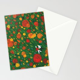 Flower Floor 002  Stationery Cards