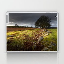 Approaching storm over Brecon, South Wales UK Laptop & iPad Skin