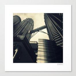 Malaysian Twin Towers Canvas Print