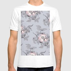 Spring is Coming White Mens Fitted Tee MEDIUM
