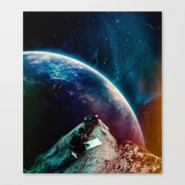 Nothing Turns Out As Expected Canvas Print
