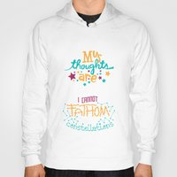 tfios Hoodies featuring My Thoughts Are Stars by Risa Rodil