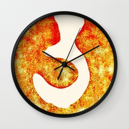 Hell Wall Clock