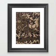 The Great Divide Part II Framed Art Print