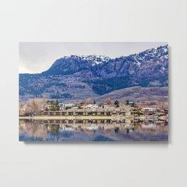 Osoyoos resort at wintertime - Okanagan, BC, Canada Metal Print