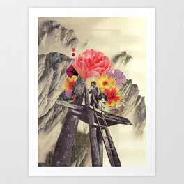 the truest thing we'd ever known Art Print