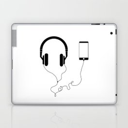 Music and love Laptop & iPad Skin