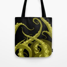 Subterranean Green Tote Bag