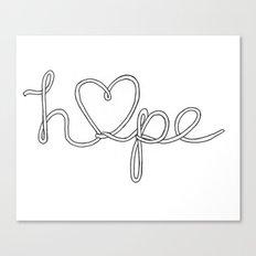 Hope. Canvas Print