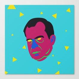 neon nacho nixon Canvas Print