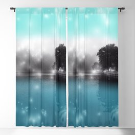 Peace and Tranquility Landscape Blackout Curtain