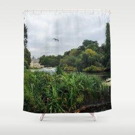 Royal British Garden Park Shower Curtain