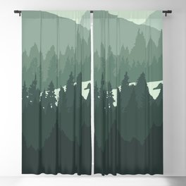 North by Pacific Northwest Blackout Curtain