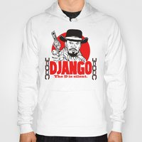 django Hoodies featuring Django logo by Buby87