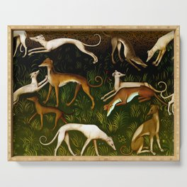 Sighthounds Serving Tray