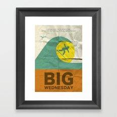Big Wednesday Framed Art Print