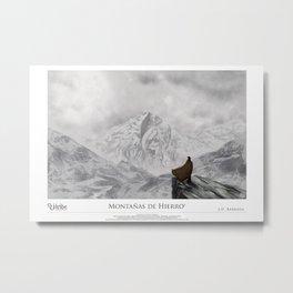 Vigilancia | Montañas de Hierro™ Metal Print