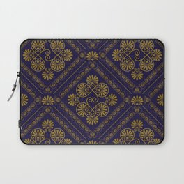 seamless pattern in eastern style Laptop Sleeve