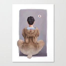 On Love: Yuuri Canvas Print
