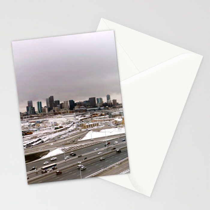 Denvers First Snow Stationery Cards