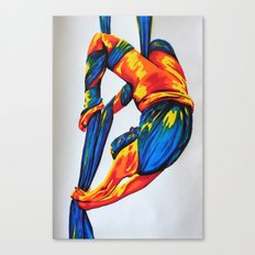Bright bendy wendy Canvas Print