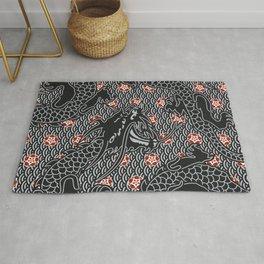 Hidden Dragon / Oriental dragon design Rug