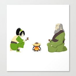 Cup of Tea with Iroh Canvas Print