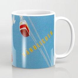 Wengen Switzerland - Vintage Travel Coffee Mug