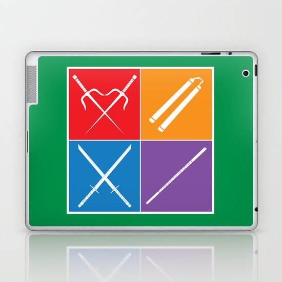 The Weapons Laptop & iPad Skin