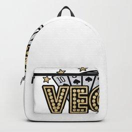 Vegas Trip Las Vegas Baby Backpack