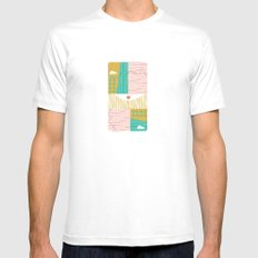 Eye On The City Mens Fitted Tee White MEDIUM