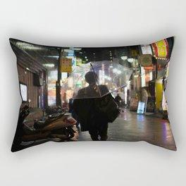 Salary Man Rectangular Pillow