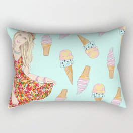 Sweet Faye Rectangular Pillow