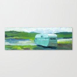 MINT CAMPER Canvas Print