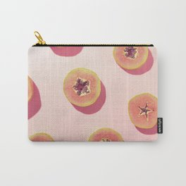 #01_Papaya in pink Carry-All Pouch