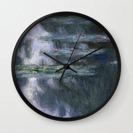 Water Lilies (Nymphéas) Wall Clock