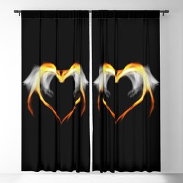The fire of love Blackout Curtain