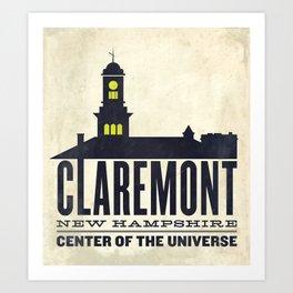 Claremont, New Hampshire Art Print