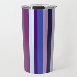 Stripes in colour 8 Travel Mug