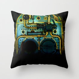 Industrial Victorian Throw Pillow