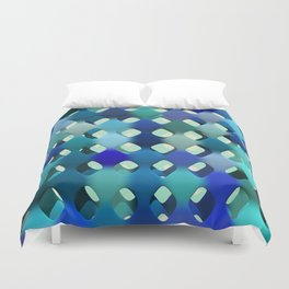Abstract Composition 612 Duvet Cover