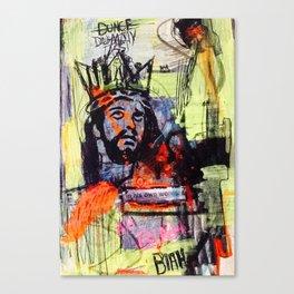 KINGDUNCE Canvas Print