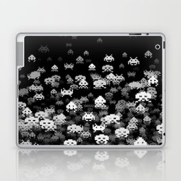 Invaded BLACK Laptop & iPad Skin
