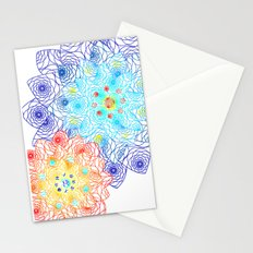 Floral Lace Stationery Cards