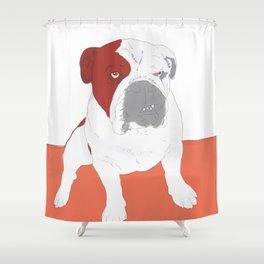 Bull dog Shower Curtain