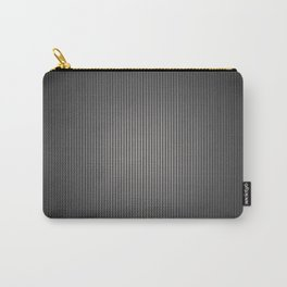 Carbon Stripe Pattern Carry-All Pouch