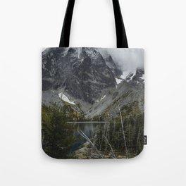 Alpine Lake in Washington Tote Bag