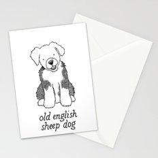 Dog Breeds: Old English Sheep Dog Stationery Cards