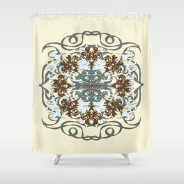 Spa Blues Shower Curtain