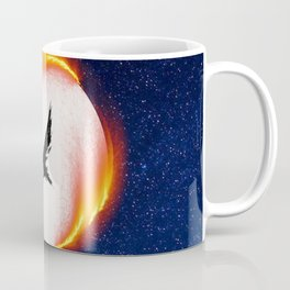 The Head is too Wise The Heart is All Fire   Raven Cycle Design Coffee Mug